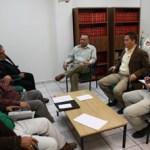 El titular del Poder Judicial, escuchó atentamente los diversos planteamientos que presentaron los dirigentes del Sindicato de Burócratas.