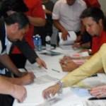 Estos 35 familias favorecidas representan el 50% de los beneficiarios del programa 2011, detalló la titular de la dirección general de desarrollo social, María Luisa Araceli Domínguez Ramírez.