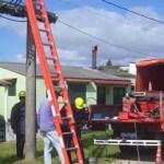 Juan de la Peña Salgado, director de la dependencia municipal, anunció que se sustituyeron dos kilómetros de cableado, que, al mismo tiempo, reincorporan funciones de una docena de lámparas.