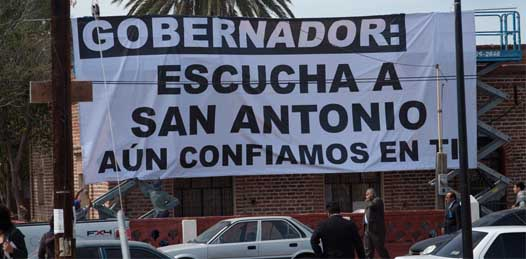 Mal informan seudo ambientalistas a la población, denuncian vecinos de San Antonio