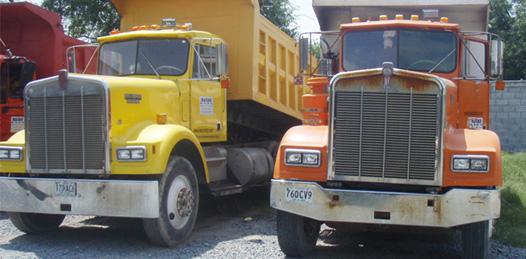 Quieren transportistas materialistas participación abierta en obras de gran envergadura