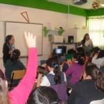 Hasta ahora se han llevado las pláticas a Escuelas Primarias de Los Cabos, La Paz, Loreto, Mulegé, Comondú, contando con una buena colaboración de los maestros y una buena participación de los alumnos.