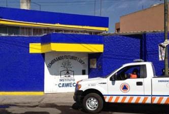 Se incendia guardería en Puebla
