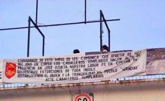 Aparecen en Guanajuato narcomantas previo a visita papal