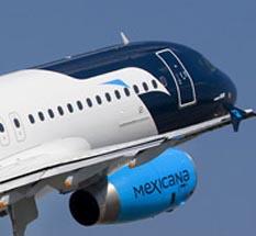 Dan otro paso en el rescate de Mexicana de aviación