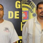 Roberto Miranda Gómez y Oswaldo Aréchiga Pérez.