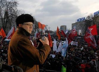 Exige la oposición rusa repetición de las elecciones