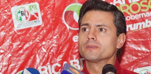 Ya tiene fecha la visita de Enrique Peña Nieto a BCS