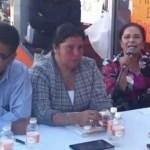 No voy a ceder en mi denuncia, la cual va más a allá de un asunto partidista, dijo Miriam Muñoz en una conferencia de prensa.