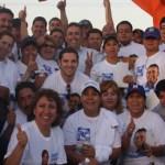 Pancho Pelayo recibió muestras de apoyo y afecto de las familias sudcalifornianas.