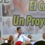 En estos momentos, Peña Nieto participa en los trabajos de la CROC en su Congreso Nacional donde pidió a los mexicanos su voto para el verdadero cambio, sobre todo a los miembros de la central obrera aquí reunidos.