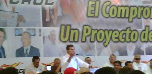 """Pide EPN un voto para el """"verdadero cambio"""""""