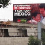Valla publicitaria Peña Nieto