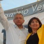 Andrés Manuel López Obrador reiteró ante los cabeños reunidos en esa plaza pública que no se debe permitir que los partidos políticos que por años estuvieron en el poder, regresen.