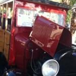 La novedad de este año fue una vagoneta completamente de madera modelo Ford A, proveniente, explicó Amarillas, del taller Espinoza, de la localidad de San Bartolo, en el estado, modelo que data del año 1929.