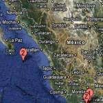 El movimiento fue registrado por el SSN a las 9 horas con 44 minutos de este 1 de mayo a 172 kilómetros al sureste de San José del Cabo.