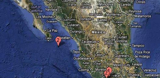 Registran sismo de 4.9 grados al sur de Los Cabos