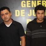Omar Cabrera Valencia y Cristhian Antonio Torres Cota.