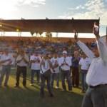 Durante un encuentro deportivo en Comondú, el candidato del PAN al Senado de la República, Carlos Mendoza Davis, dijo que como senador, propondrá mayores oportunidades para los jóvenes, a fin de que puedan enfrentar el futuro.