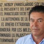 El profesor universitario Héctor Murillo Aguilar, quien se ostenta como candidato independiente al senado de la república, difundió su mensaje.