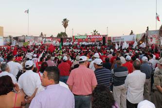 Votar por el PRI, es a favor de la unidad sudcaliforniana: Isaías González Cuevas