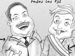 Los cartones de Ricardo / Y si gana AMLO?