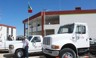 Quedó resguardado todo vehículo del Ayuntamiento de La Paz