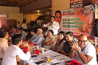 Programas sociales no desaparecen; serán mejores con el nuevo gobierno, asegura Barroso