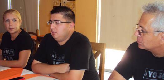 """""""Hemos escuchado declaraciones de Luna Ramos, diciendo no se va a resolver en la mesa lo que no se resolvió en las urnas, o sea, cómo es posible que el presidente del TEPJF, haga un prejuicio; todavía no se ha resuelto nada y ya estás diciendo que no hay nada qué hacer"""", manifestó Miguel Ornelas, vocero oficial de#YoSoy132 Los Cabos."""