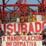 El movimiento #YoSoy132 Los Cabos, clausuró simbólicamente las antenas de transmisión de Televisa, ubicadas en la colonia 8 de octubre, en San José del Cabo.