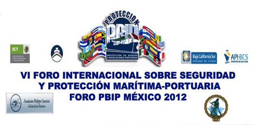Será La Paz sede del VI Foro Internacional sobre Seguridad y Protección Marítima-Portuaria que próximamente se llevará a cabo del 30 de octubre al 2 de noviembre donde participarán representantes de 32 países de América Latina, Europa y Asia.