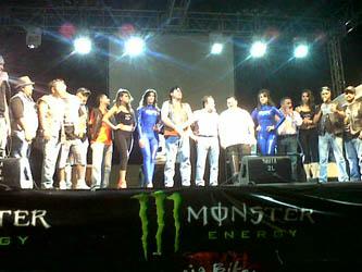 Inauguran octavo encuentro de clubes de motos Baja Bikers