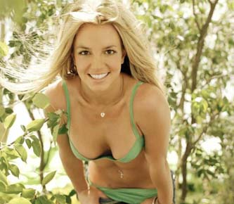 Britney Spears luce una esbelta figura.
