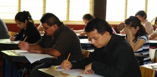 Reprobaron 70% de los aspirantes a profesores el examen del concurso para distribución de plazas