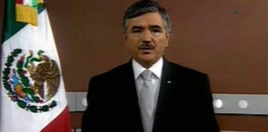 El consejero presidente del IFE, Leonardo Valdés Zurita, dio su tercer mensaje en cadena nacional.