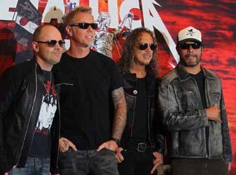 Metallica ofreció ayer una histórica conferencia de prensa para presentar el inicio de su tour mundial El arsenal completo.