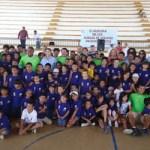 Con una atención directa a más de 600 niños y niñas, de los 6 a los 12 años de edad, concluyeron los cursos de verano deportivos organizados por la Coordinación del Deporte.