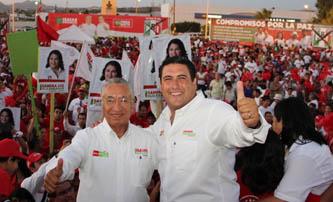 Triunfa la fórmula Ricardo Barroso e Isaías González