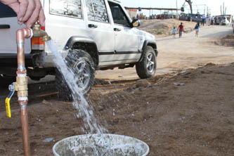 Los equipos de cloración de agua, entregados por la Comisión Nacional del Agua a través del Programa Agua Limpia, permitirán mejorar la calidad del agua  y por ende la calidad de vida de los habitantes locales, pues la mayoría de ellos utilizan el agua potable para su consumo personal.