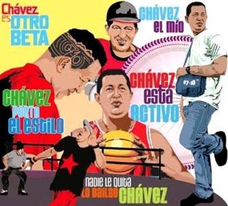 Hugo Chávez es otro rollo…