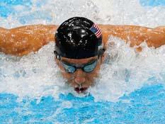 Adiós dorado para Michael Phelps
