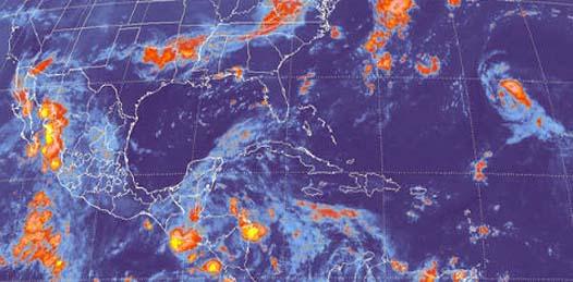 Prevé el Meteorológico Nacional moderadas lluvias en el noroeste del país