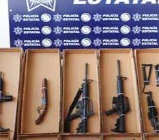 Llevó niño un arma a clases… en casa tenía 25 más