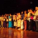 25 maestros jubilados del municipio de Los Cabos, fueron homenajeados la mañana del lunes 17 de septiembre, por el XI Ayuntamiento, como forma de agradecimiento por tantos años al servicios de la educación.