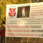 Manifestacion contra Reforma laboral