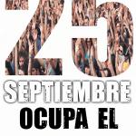 Cartel del movimiento 25S