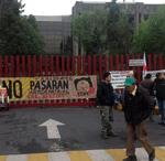 trabajadores protestan