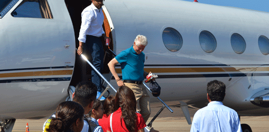 Bill Clinton en Los Cabos