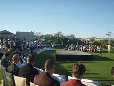 Inauguran campo de golf