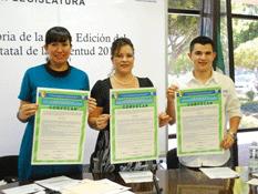 Presentan convocatoria para el Premio Estatal de la Juventud